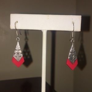 Sterling Silver s earring stamped 925